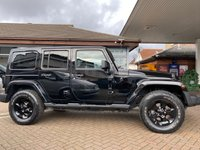 USED 2015 65 JEEP WRANGLER 2.8 CRD BLACK EDITION II 4d 197 BHP Free MOT for Life