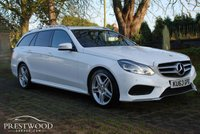 USED 2013 63 MERCEDES-BENZ E CLASS E350 3.0 AMG SPORT BLUETEC 7G-TRONIC [250 BHP] ESTATE