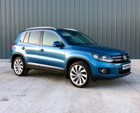 2015 VOLKSWAGEN TIGUAN 2.0 MATCH TDI BLUEMOTION TECHNOLOGY 4MOTION 5d 148 BHP £10850.00