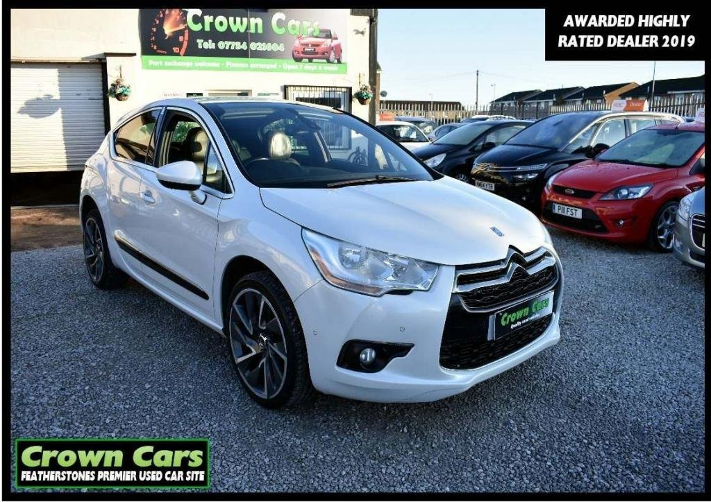 USED 2013 13 CITROEN DS4 2.0 HDi DSport 5dr 3 MONTHS WARRANTY & PDI CHECKS