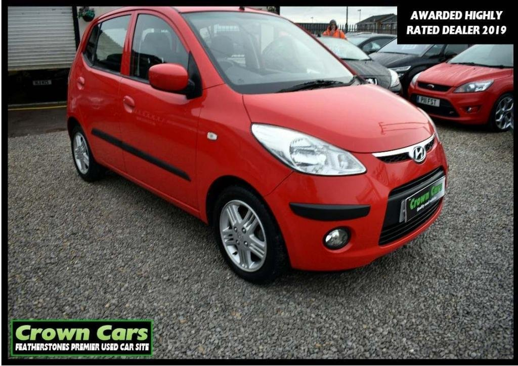 USED 2009 59 HYUNDAI I10 1.2 Comfort 5dr 3 MONTH WARRANTY & PDI CHECKS