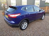 USED 2016 66 NISSAN QASHQAI 1.5 dCi Acenta (Smart Vision & Tech Packs) 5dr Bluetooth, F&R Parking Sensors