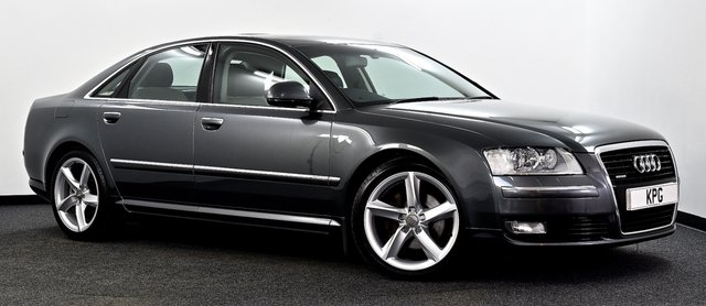 USED 2009 59 AUDI A8 3.0 TDI Sport quattro 4dr Sunroof, Xenons, FSH(8 Stamps)