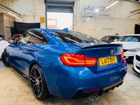 USED 2017 17 BMW 4 SERIES 2.0 420d M Sport 2dr PERFORMACE KIT 20S STUNNER