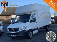 USED 2016 66 MERCEDES-BENZ SPRINTER 2.1 314 CDI 140 BHP EURO 6 LWB FACELIFT 13FT LUTON BOX BLUEEFFICIENCY EURO 6, 13FT 4 INCH BOX, 140 BHP, 1 OWNER, FDSH,