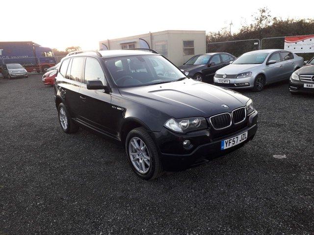 2007 57 BMW X3 2.0 D SE 5d 148 BHP