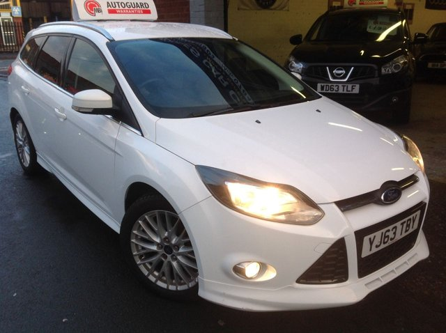2013 63 FORD FOCUS 1.6  TDCI  ZETEC S  ESTATE
