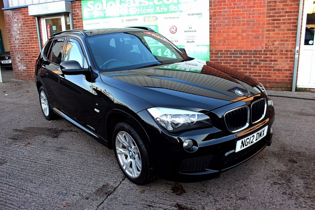 USED 2012 12 BMW X1 XDRIVE20D M SPORT +JUST SERVICED +SPORTS SEATS.