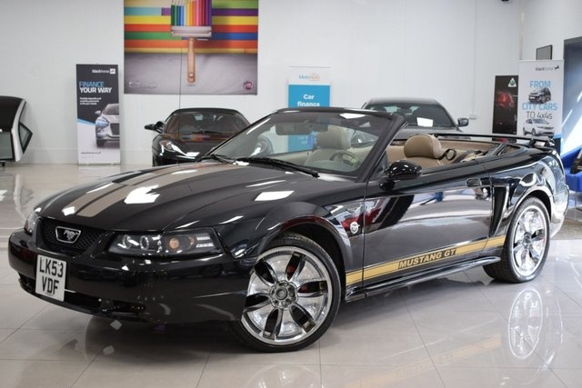USED 2004 53 FORD MUSTANG FORD MUSTANG DELUXE CONVERTIBLE  STUNNING  MUSTANG! MUST BE SEEN!
