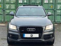 USED 2013 13 AUDI Q5 2.0 TDI S line Plus S Tronic quattro (s/s) 5dr PanRoof/HeatedSeats/BlackPack