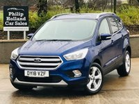 "USED 2018 18 FORD KUGA 1.5 ZETEC TDCI 5d 119 BHP Appearance pack, 18"" Alloys"