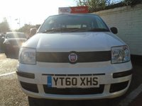 USED 2010 60 FIAT PANDA 1.1 ACTIVE ECO 5d 54 BHP GUARANTEED TO BEAT ANY 'WE BUY ANY CAR' VALUATION ON YOUR PART EXCHANGE