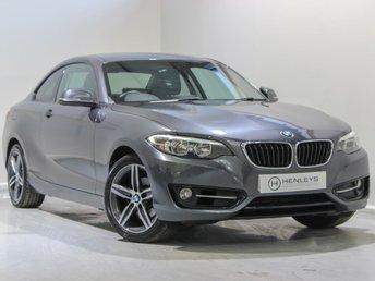 2015 BMW 2 SERIES 1.5 218I SPORT 2d 134 BHP £12990.00
