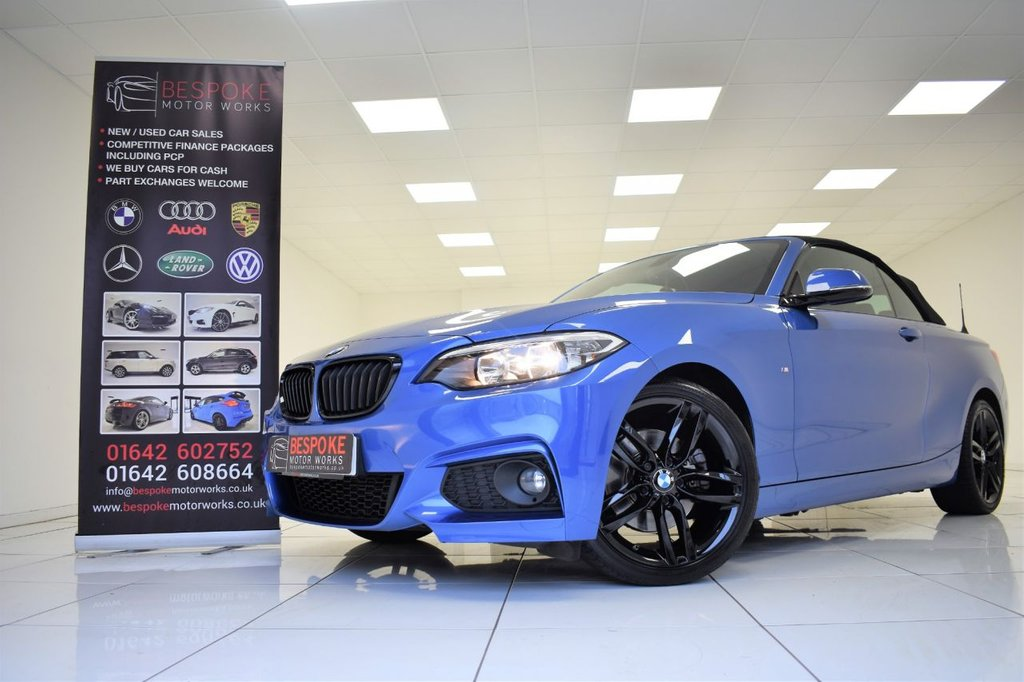 USED 2015 15 BMW 2 SERIES 220D M SPORT