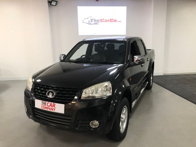 2013 13 GREAT WALL STEED 2.0 TD CHROME 4X4 DCB 141 BHP