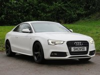 USED 2013 13 AUDI A5 1.8 TFSI BLACK EDITION 2d 170 BHP B&O SOUND, HEATED SEATS & MORE