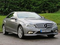 USED 2010 60 MERCEDES-BENZ E CLASS 3.0 E350 CDI BLUEEFFICIENCY SPORT 2d 231 BHP PAN. ROOF, HEATED SEATS & MORE