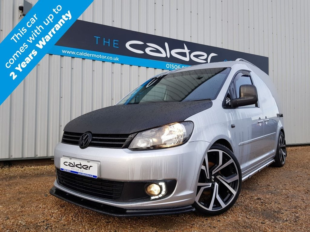 USED 2015 15 VOLKSWAGEN CADDY 1.6 C20 TDI HIGHLINE 1d 101 BHP