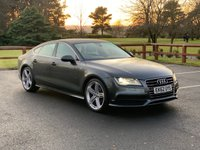USED 2012 62 AUDI A7 3.0 TDI QUATTRO S LINE 5d 204 BHP FULL SERVICE HISTORY, FULL LEATHER, HEATED SEATS, SAT NAV, PARKING SENSORS, HEADS UP DISPLAY