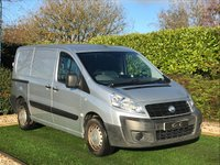 USED 2007 57 FIAT SCUDO 2.0 COMFORT SWB MULTIJET 118 BHP NO VAT A Genuine Example with Fantastic Load Carrying Capabilities with the Very Useful Twin Side Loading Doors. Ideal for Tradesmen when Transit Size is Just too Big to Park The Cabin is Very Well Equipped with Three Seats in Grey with Blue Centre Panel Electric Windows and Remote Locking Radio CD. It is Very Car Like to Drive with Fuel Economy to Match and Cheaper Tax for Super Low Running Costs. The Mileage is High but the Vehicle Drives Superbly and it Represents Fantastic Value for Money.