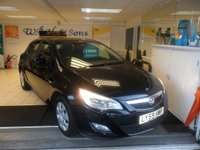2010 VAUXHALL ASTRA 1.4 EXCLUSIV 5d 98 BHP £2995.00