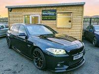 2013 BMW 5 SERIES 2.0 520D M SPORT TOURING 5d 181 BHP £15250.00