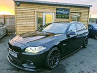USED 2013 63 BMW 5 SERIES 2.0 520D M SPORT TOURING 5d 181 BHP **** Finance Available****