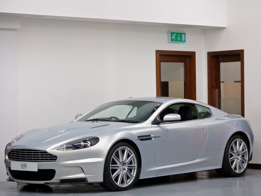 USED 2009 58 ASTON MARTIN DBS 6.0 V12 Touchtronic 2dr LOW MILES + BANG & OLUFSEN