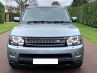 USED 2011 D LAND ROVER RANGE ROVER SPORT 3.0 SD V6 HSE (Luxury Pack) 4X4 5dr REVERSE CAM+HEATED STEERING+