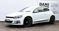 USED 2015 65 VOLKSWAGEN SCIROCCO 2.0 TDI BlueMotion Tech GT Hatchback 3dr 1 OWNER*SATNAV*PARKING AID*