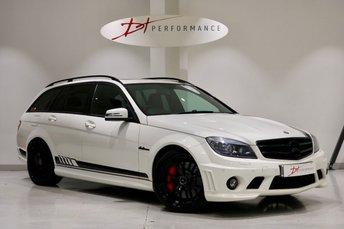 2011 MERCEDES-BENZ C CLASS 6.2 C63 AMG 5d 451 BHP £19950.00