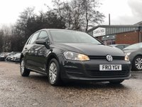 2013 VOLKSWAGEN GOLF 1.6 S TDI BLUEMOTION TECHNOLOGY 5d 103 BHP £5995.00
