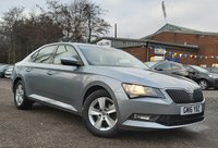 USED 2016 16 SKODA SUPERB 1.6 S TDI DSG 5d 118 BHP