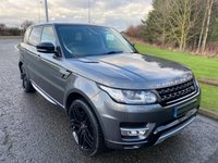 "USED 2014 14 LAND ROVER RANGE ROVER SPORT 3.0 SDV6 HSE 5d 288 BHP AUTO 22"" STEALTH ALLOYS, BLACK PACK"