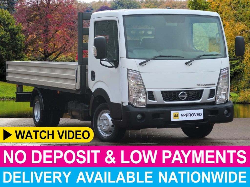 USED 2014 14 NISSAN NT400 CABSTAR 2.5 DCI LWB DROPSIDE 3.5 TOP 140 BHP 3.5 TON TOWING CAPACITY