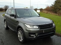 USED 2014 64 LAND ROVER RANGE ROVER SPORT 3.0 SDV6 HSE DYNAMIC 5d 288 BHP IVORY LEATHER, PANORAMIC ROOF