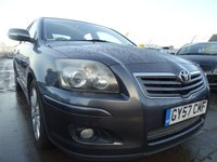 USED 2007 57 TOYOTA AVENSIS 2.0 TR D-4D 5d VERY CLEAN EXAMPLE MUST SEE