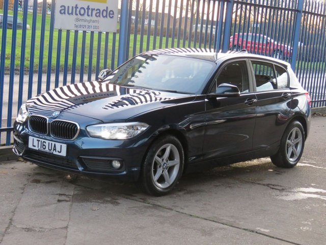 USED 2016 16 BMW 1 SERIES 1.5 116D SE 5dr Sat nav Bluetooth & audio Cruise Alloys DAB Automatic Diesel with SatNav