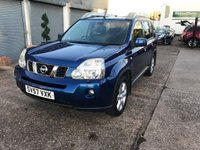 USED 2007 57 NISSAN X-TRAIL 2.0 AVENTURA EXPLORER X DCI 5d 148 BHP FULL SERVICE HISTORY-10 STAMPS-AUTOMATIC-LEATHER-NAV-REVERSE CAMERA