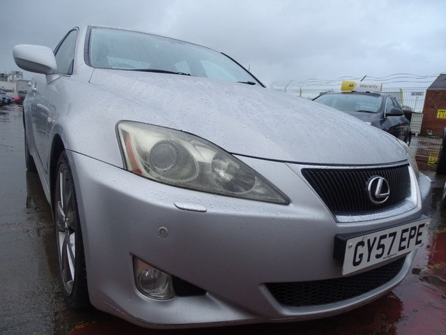 USED 2007 57 LEXUS IS 2.5 250 SPORT 4d RARE SPEC DRIVES A1