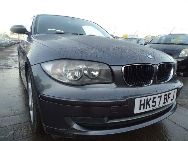 USED 2007 57 BMW 1 SERIES 2.0 120D SE 3d 175 BHP GOOD DIESEL CARS