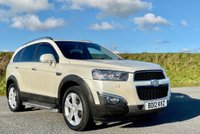 USED 2012 12 CHEVROLET CAPTIVA 2.2 VCDi LTZ 5dr (7 Seats) PEARL PAINT+SAT NAV+PRIVACY