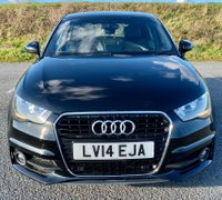 USED 2014 14 AUDI A1 1.4 TFSI S line Sportback 5dr LOW MLS+BLACK PACK+LEATHER