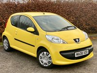 USED 2008 08 PEUGEOT 107 1.0 URBAN 3d 68 BHP * 2 OWNERS, RECENTLY SERVICED  *