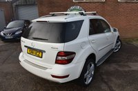 USED 2011 61 MERCEDES-BENZ M CLASS 3.0 ML300 CDI BLUEEFFICIENCY SPORT 5d AUTO 204 BHP WE OFFER FINANCE ON THIS  CAR