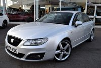 USED 2009 59 SEAT EXEO 2.0 SPORT CR TDI 4d 141 BHP FINANCE TODAY WITH NO DEPOSIT