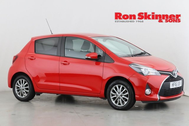 View our 2016 16 TOYOTA YARIS 1.3 VVT-I ICON 5d 99 BHP