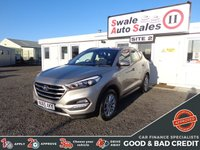 USED 2015 65 HYUNDAI TUCSON 1.7 CRDI SE BLUE DRIVE 5d 114 BHP GOOD AND BAD CREDIT SPECIALISTS! APPLY TODAY!