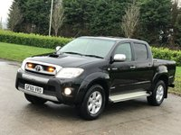 2010 TOYOTA HI-LUX 3.0 INVINCIBLE 4X4 D-4D DCB 169 BHP SOLD