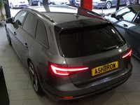 USED 2018 18 AUDI A4 AVANT 2.0 TDI BLACK EDITION 5d AUTO 190 S/S NEW SHAPE, UPGRADE REAR CAMERA, UPGRADE ELECTRIC FOLDING HEATED MIRRORS, SAT NAV, HEATED SEATS, 19 INCH AUDI SPORT ALLOYS, AUTO HILL HOLD, AUDI SMART PHONE, AUDI CONNECT, DAB RADIO, CRUISE CONTROL WITH SPEED LIMITER, PRIVACY GLASS, BLACK ROOF RAILS, ELECTRIC TAILGATE, BLUETOOTH PHONE & AUDIO STREAMING, F&R PARKING SENSORS WITH DISPLAY, LEATHER ALCANTARA, LEATHER FLAT BOTTOM MULTIFUNCTION TIPTRONIC STEERING WHEEL (PADDLE SHIFT), LIGHT & RAIN SENSORS, DRIVE SELECT, EFFICIENCY ASSIST, AUDI WARRANTY